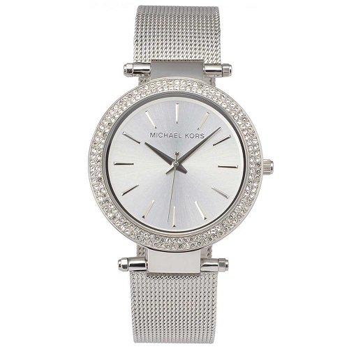 0a1572102d46 Đồng Hồ Michael Kors Nữ Chính Hãng MK3367 Darci Stainless Steel Mesh  Bracelet Watch